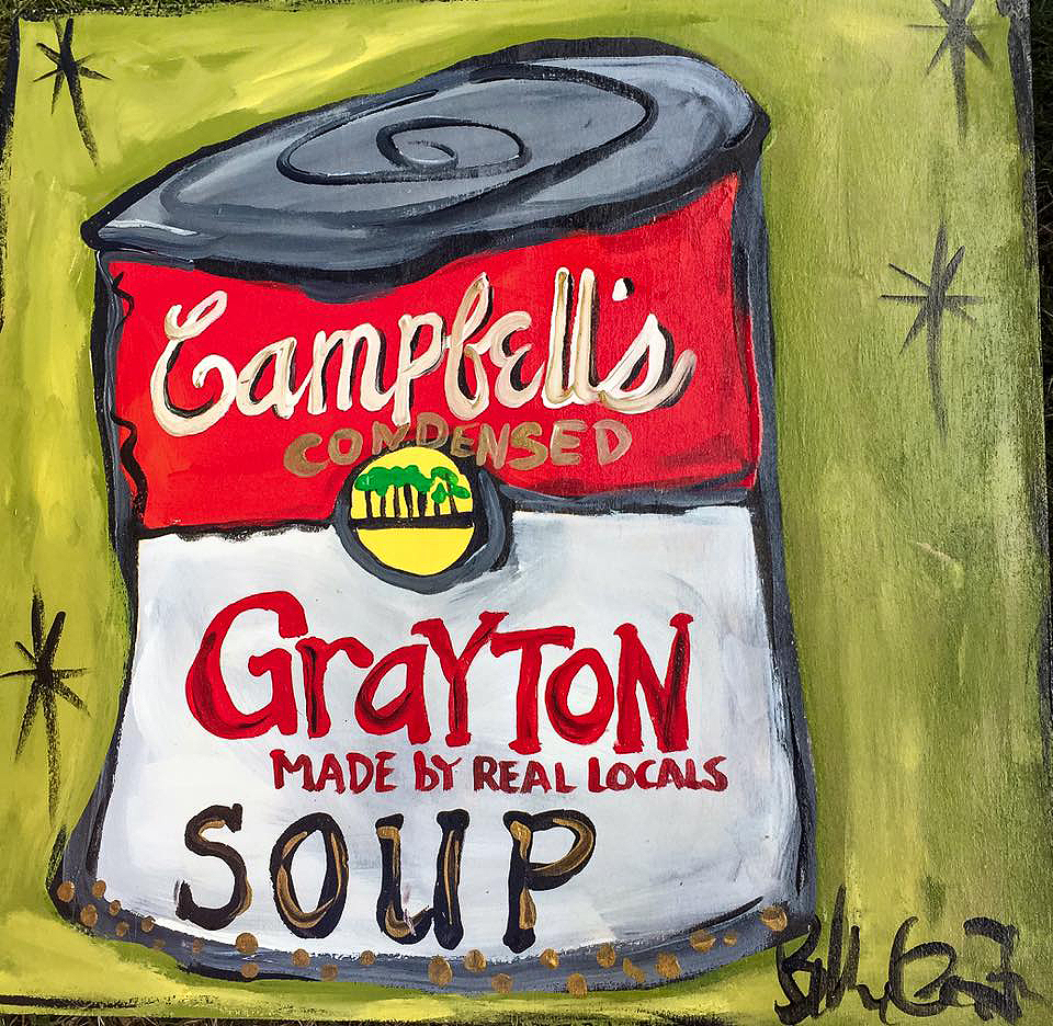 BILLIE GAFFREY — Grayton Soup, 12x12