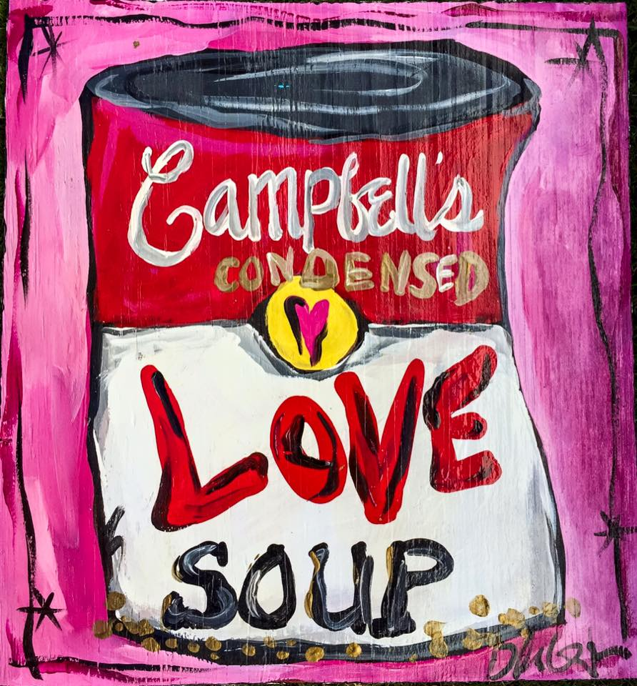 BILLIE GAFFREY — Love Soup, 12x12