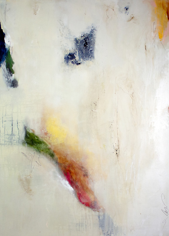 Concrete and Cashmere by abstract artist Rae Broyles