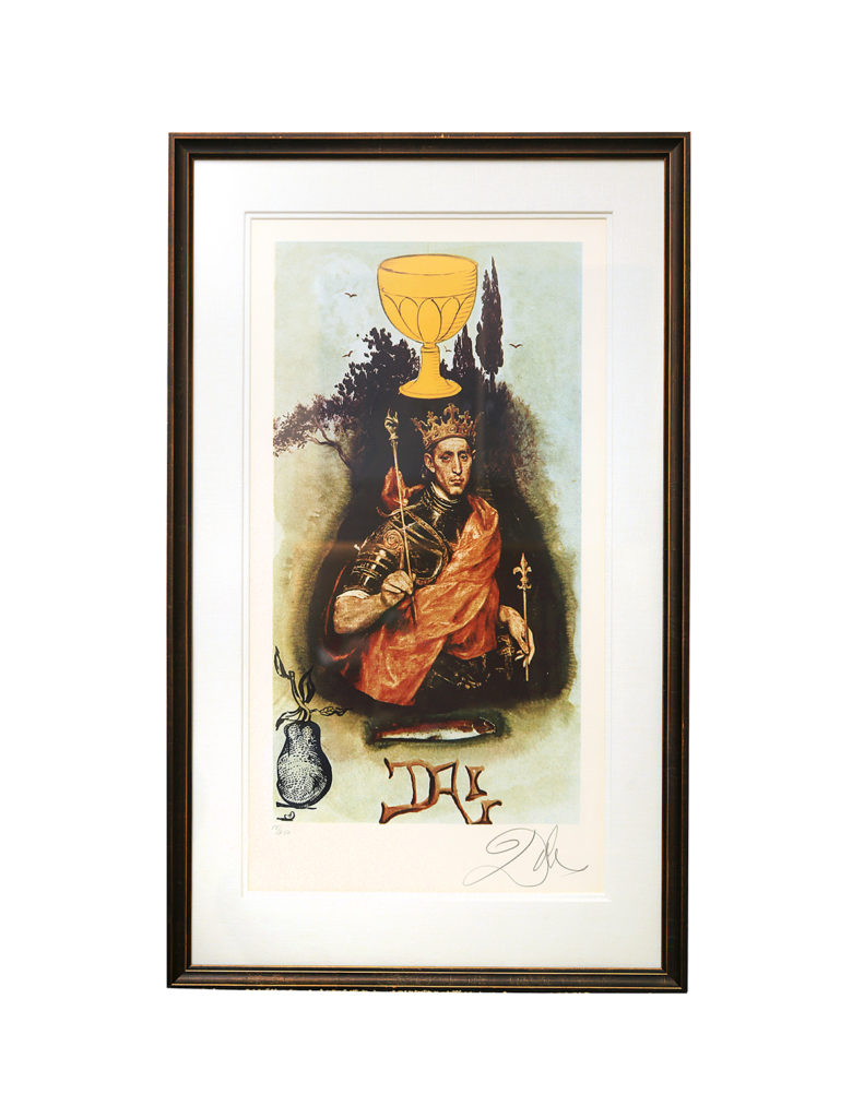 Salvador Dali - King of Cups