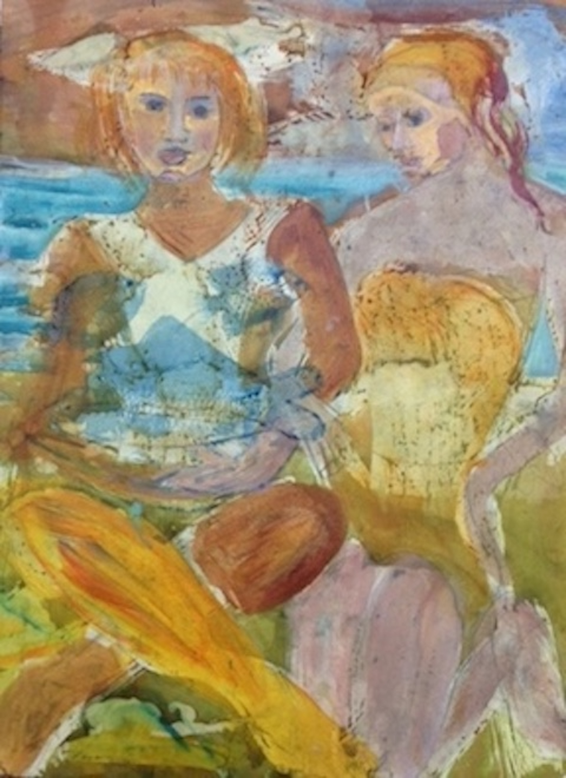 """Beach Life"" by Marti Schmidt 16"" x 20"" $950"