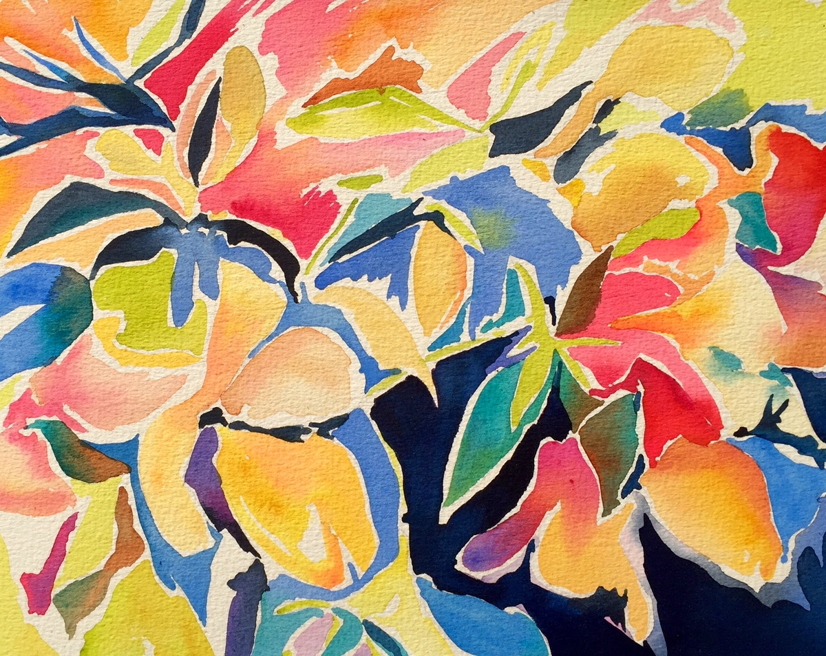 """Coastal Dreamscape"" by Melanie Moore 20"" x 16"" $550"